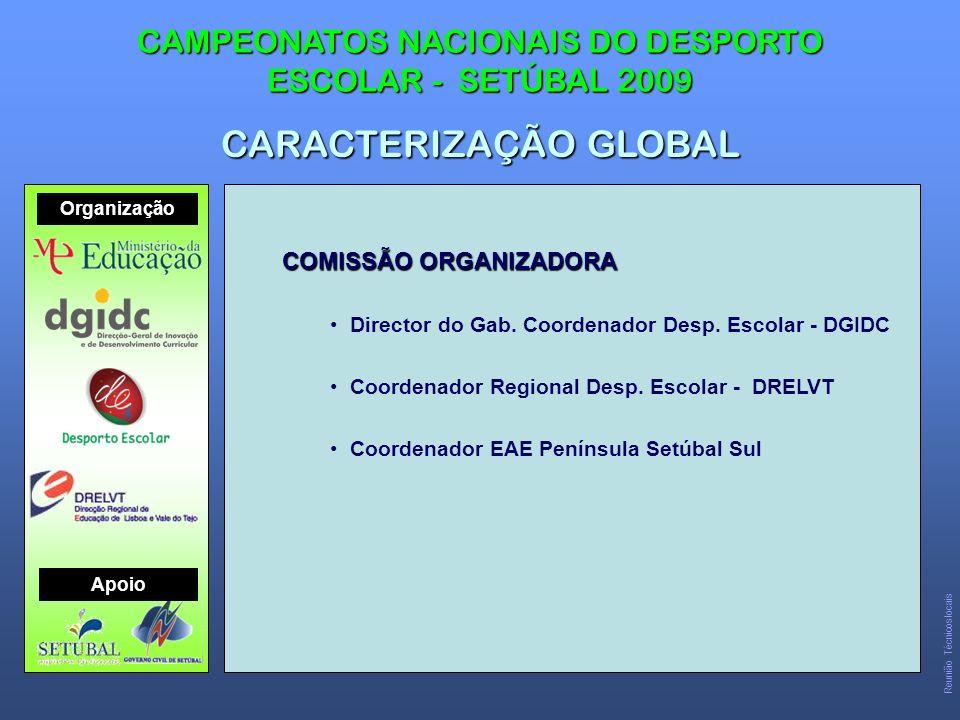 COMISSÃO ORGANIZADORA Director do Gab.Coordenador Desp.