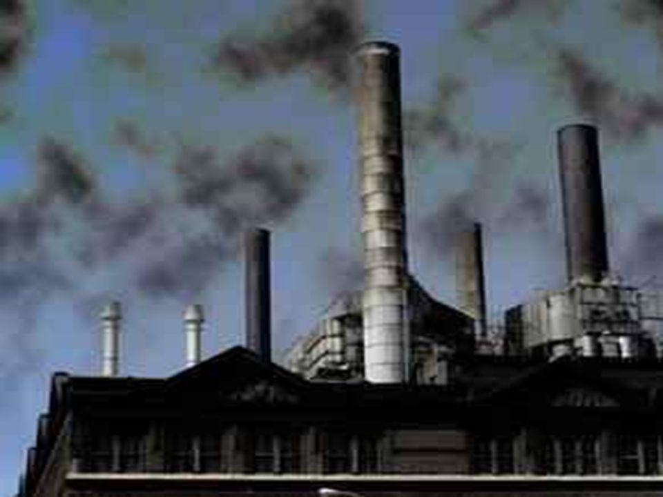 Quebra do Equilíbrio Ambiental Poluição do Ar