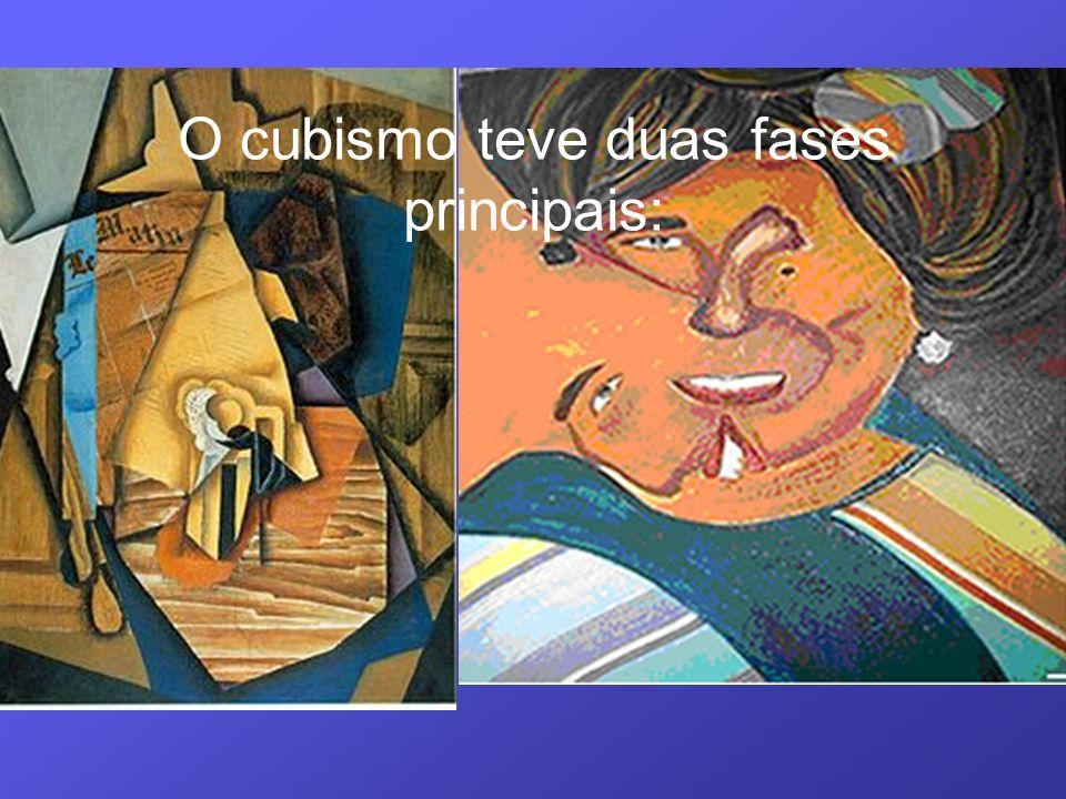 O cubismo teve duas fases principais: