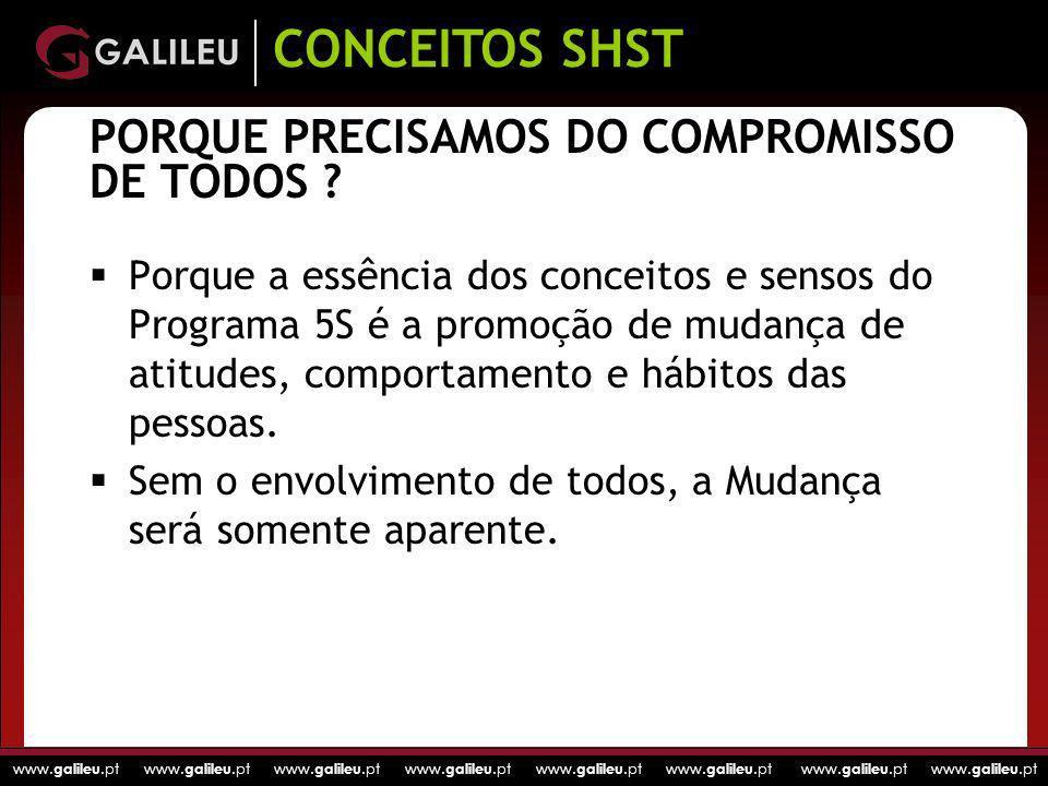 www. galileu.pt www. galileu.pt www. galileu.pt www. galileu.pt PORQUE PRECISAMOS DO COMPROMISSO DE TODOS ? Porque a essência dos conceitos e sensos d