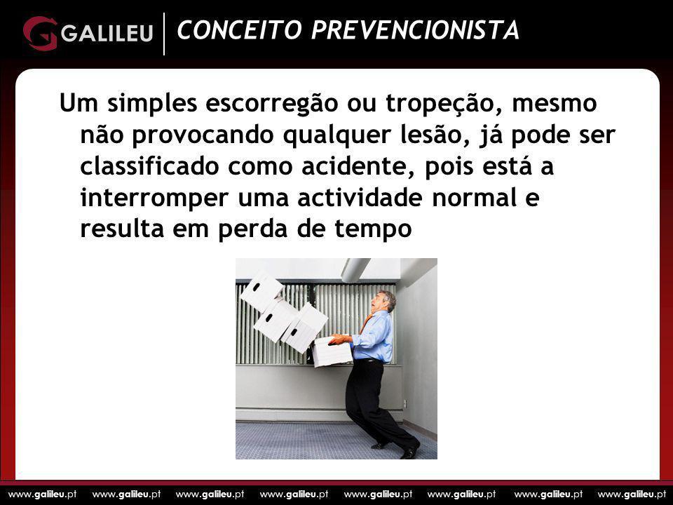 www. galileu.pt www. galileu.pt www. galileu.pt www. galileu.pt Um simples escorregão ou tropeção, mesmo não provocando qualquer lesão, já pode ser cl