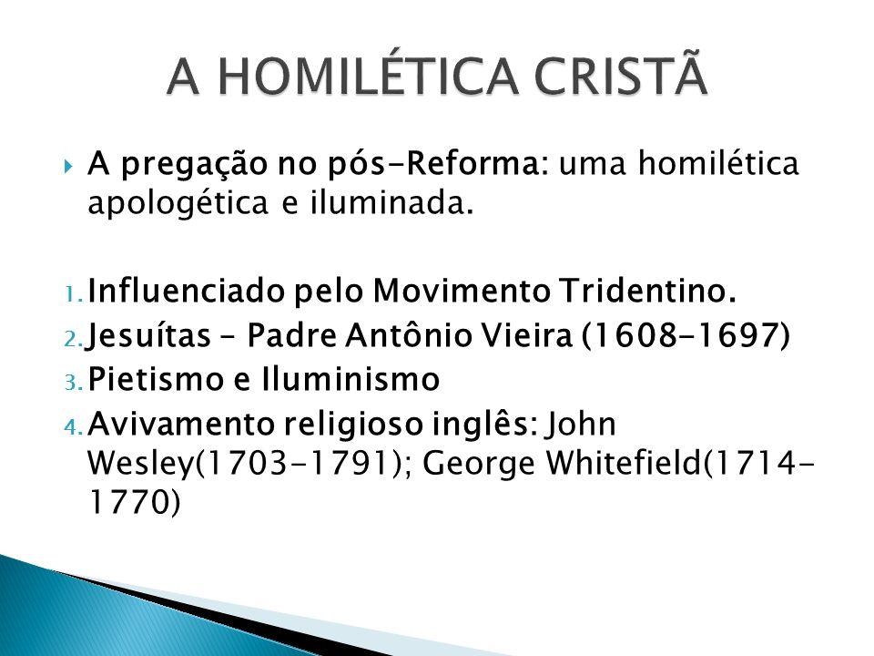 A pregação no tempo das missões: uma homilética conversionista e estrangeira.