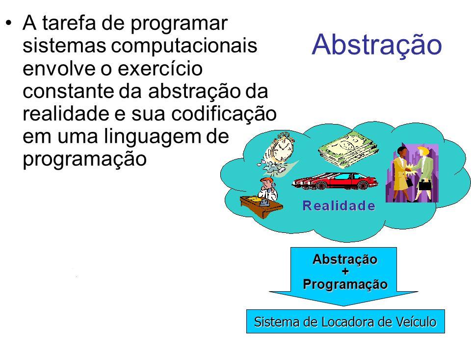 A tarefa de programar sistemas computacionais envolve o exercício constante da abstração da realidade e sua codificação em uma linguagem de programaçã