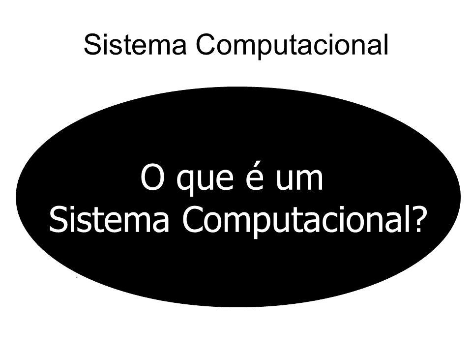 Sistema Computacional O que é um Sistema Computacional?