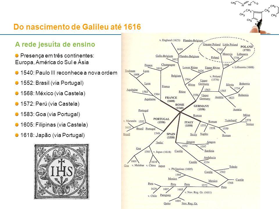 A rede jesuíta de ensino Presença em três continentes: Europa, América do Sul e Ásia 1540: Paulo III reconhece a nova ordem 1552: Brasil (via Portugal
