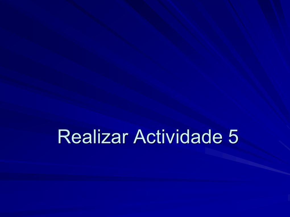 Realizar Actividade 5