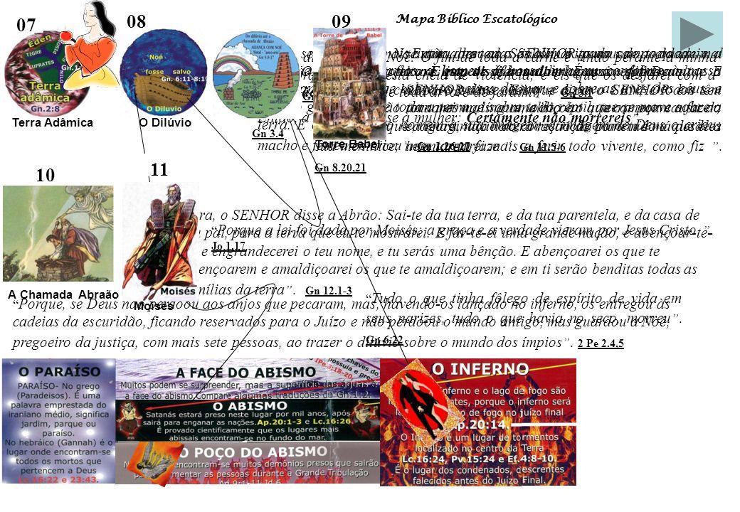 Mapa Bíblico Escatológico Estudo Sistemático da Bíblia Fonte de Pesquisa: 11 – Moisés A Aliança Mosaica, que foi chamada a Lei, não era aliança de obr