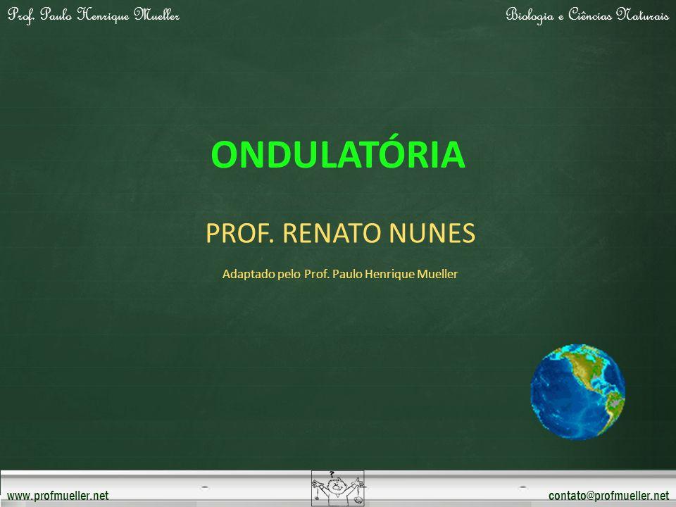 Prof. Paulo Henrique MuellerBiologia e Ciências Naturais www.profmueller.netcontato@profmueller.net ONDULATÓRIA PROF. RENATO NUNES Adaptado pelo Prof.