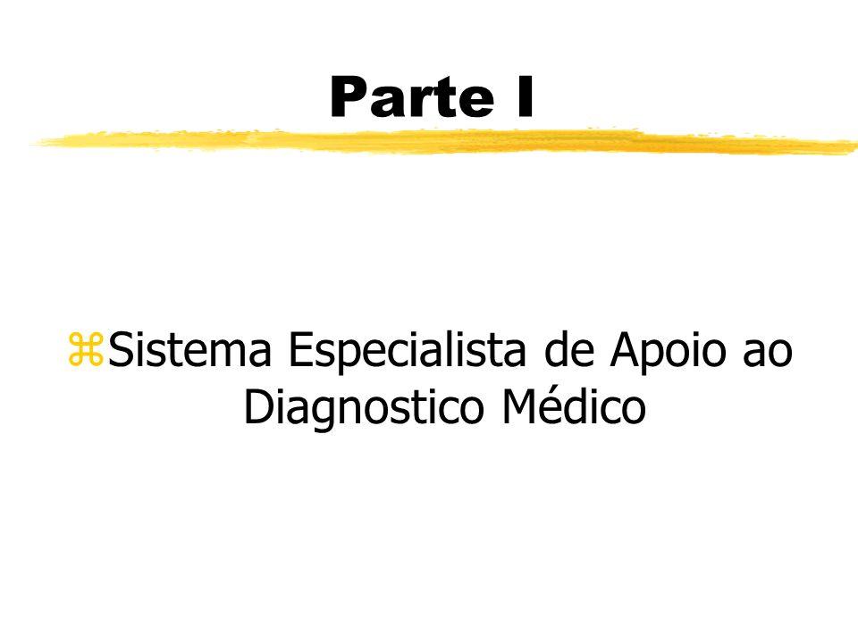 Parte I zSistema Especialista de Apoio ao Diagnostico Médico
