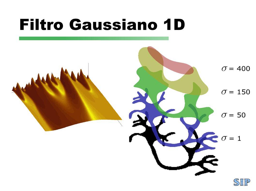 Filtro Gaussiano 1D