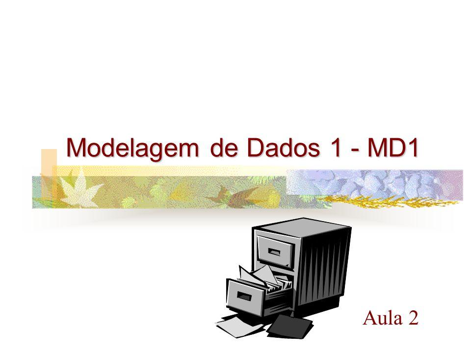 Aula 2 Modelagem de Dados 1 - MD1