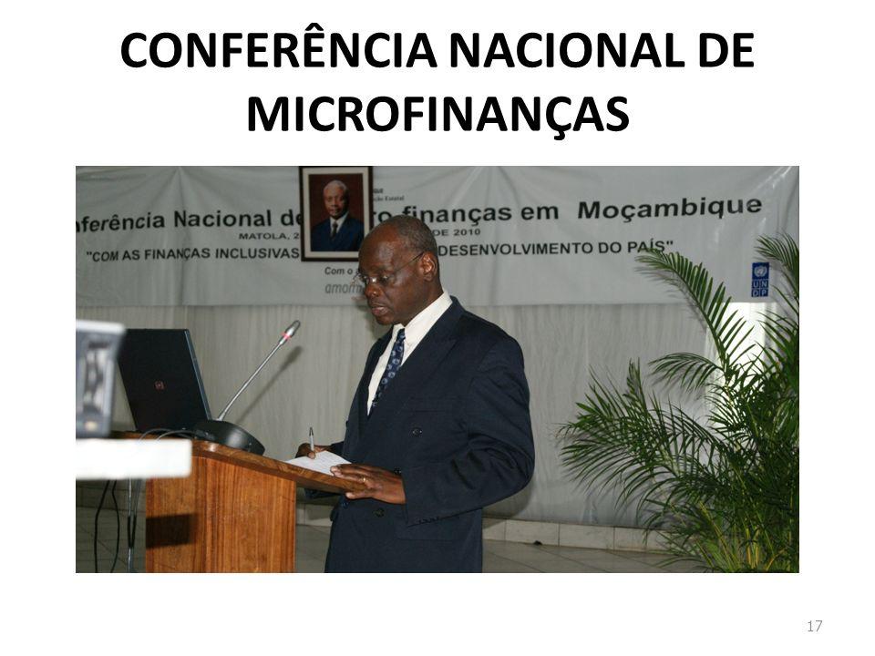 CONFERÊNCIA NACIONAL DE MICROFINANÇAS 17