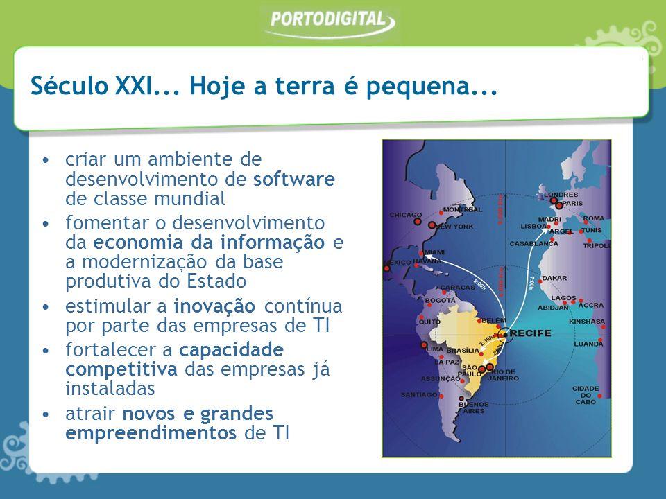 criar um ambiente de desenvolvimento de software de classe mundial fomentar o desenvolvimento da economia da informação e a modernização da base produ