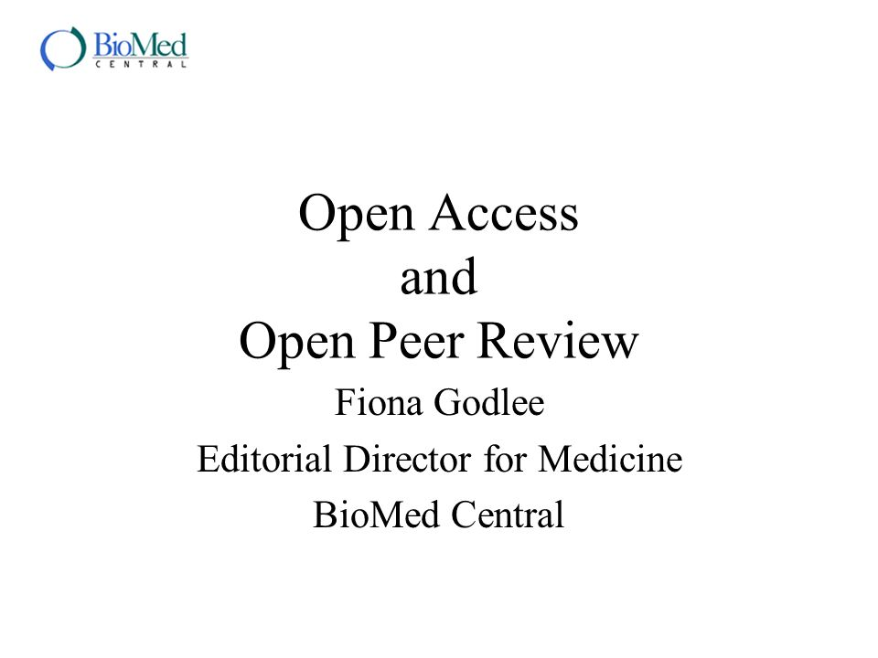 Open access Is this a starry eyed egalitarian spoof, a communist plot, or is it ivory tower academics on the loose.
