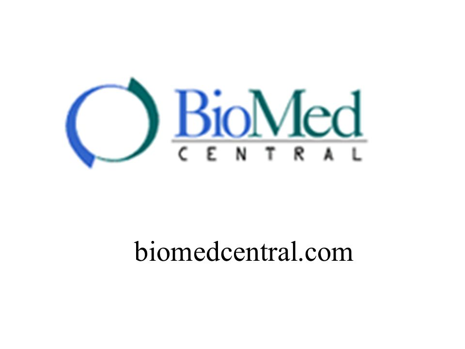 What is BioMed Central.