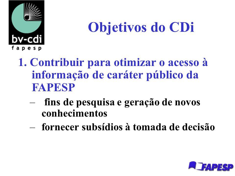 Objetivos do CDi 1.