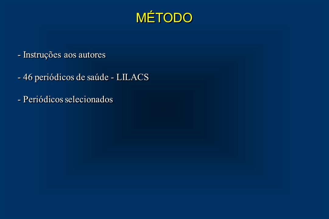 1- ACTA CIRÚRGICA BRASILEIRA 2- ACTA ONCOLÓGICA BRASILEIRA 3- ACTA AWHO 4- ARQUIVOS BRASILEIROS DE ENDOCRINOLOGIA E METABOLOGIA 5- ARQUIVOS BRASILEIROS DE NEUROCIRURGIA 6- ARQUIVOS DE GASTROENTEROLOGIA 7- ANAIS DA ACADEMIA BRASILEIRA DE CIÊNCIAS 8- BRAZILIAN JOURNAL OF GENETICS 9- BRAZILIAN JOURNAL OF MEDICAL AND BILOGICAL RESEARCH 10- CIRURGIA VASCULAR E ANGIOLOGIA 11- FEMININA 12- GED - GASTROENTEROLOGIA ENDOSCOPIA DIGESTIVA 13- INFORMAÇÃO PSIQUIÁTRICA 14- JORNAL BRASILEIRO DE GINECOLOGIA 1- ACTA CIRÚRGICA BRASILEIRA 2- ACTA ONCOLÓGICA BRASILEIRA 3- ACTA AWHO 4- ARQUIVOS BRASILEIROS DE ENDOCRINOLOGIA E METABOLOGIA 5- ARQUIVOS BRASILEIROS DE NEUROCIRURGIA 6- ARQUIVOS DE GASTROENTEROLOGIA 7- ANAIS DA ACADEMIA BRASILEIRA DE CIÊNCIAS 8- BRAZILIAN JOURNAL OF GENETICS 9- BRAZILIAN JOURNAL OF MEDICAL AND BILOGICAL RESEARCH 10- CIRURGIA VASCULAR E ANGIOLOGIA 11- FEMININA 12- GED - GASTROENTEROLOGIA ENDOSCOPIA DIGESTIVA 13- INFORMAÇÃO PSIQUIÁTRICA 14- JORNAL BRASILEIRO DE GINECOLOGIA
