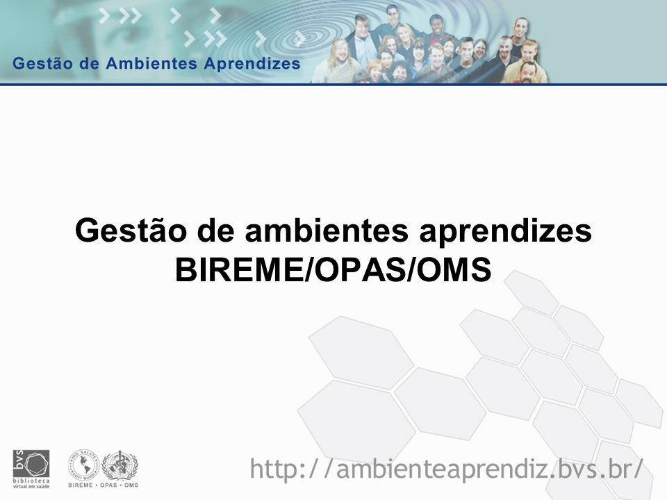 Processo GAA BIR Condução participativa do diagnóstico a BIREME decidiu por um processo participativo de avaliação das fortalezas, debilidades e recomendações para o aperfeiçoamento das práticas de gestão de conhecimento na BIREME.