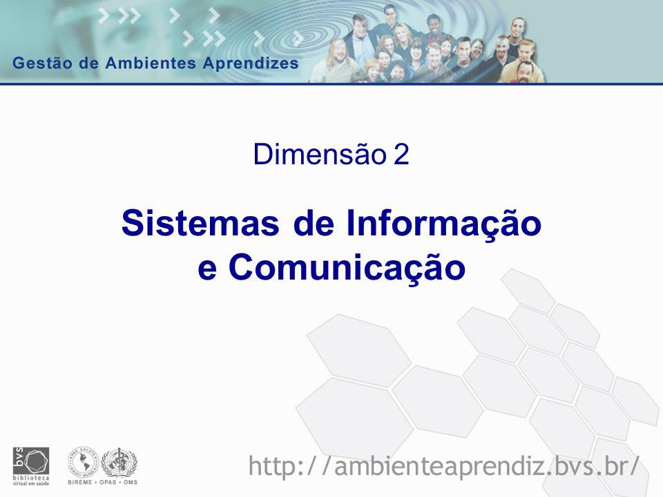 Sistemas de Informação e Comunicação Dimensão 2