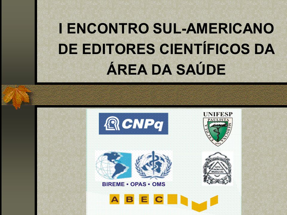 GRUPO DE PESQUISA DO CNPq (2003) PESQUISADORES, PÓS-GRADUANDOS E GRADUANDOS ANÁLISE DOS PERIÓDICOS BRASILEIROS PUBLICADORES DE ARTIGOS CIRÚRGICOS IDENTIFICAÇÃO DE PROBLEMAS PROPOSTAS DE MELHORIAS NCCC