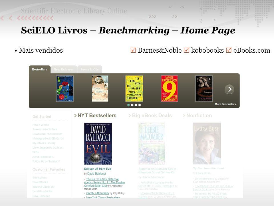 SciELO Livros – Benchmarking – Home Page Mais vendidos Barnes&Noble kobobooks eBooks.com