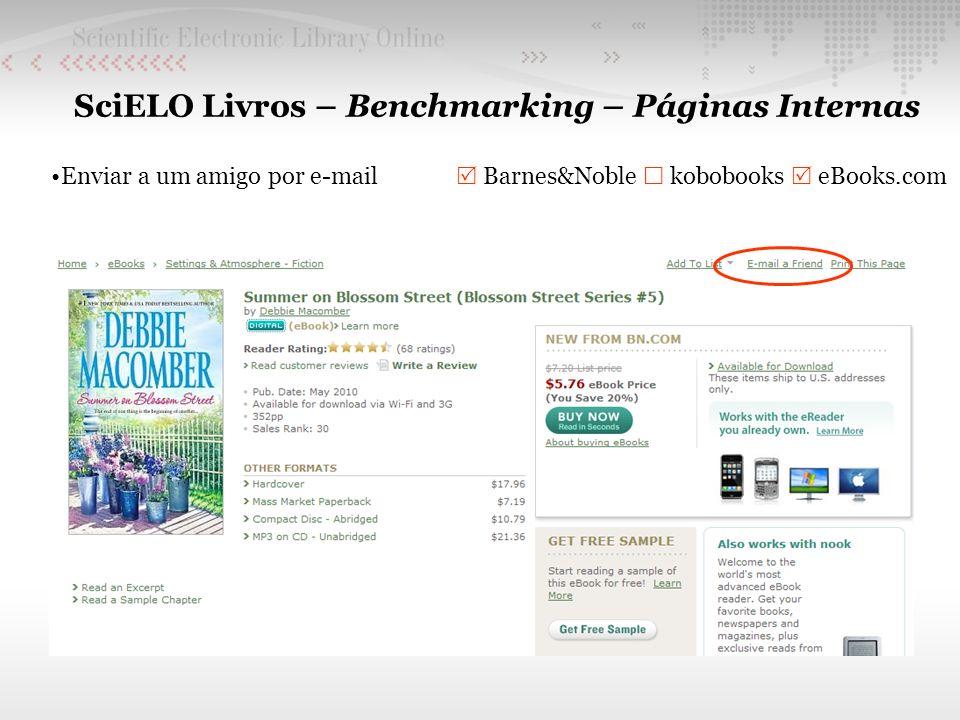 SciELO Livros – Benchmarking – Páginas Internas Enviar a um amigo por e-mail Barnes&Noble kobobooks eBooks.com