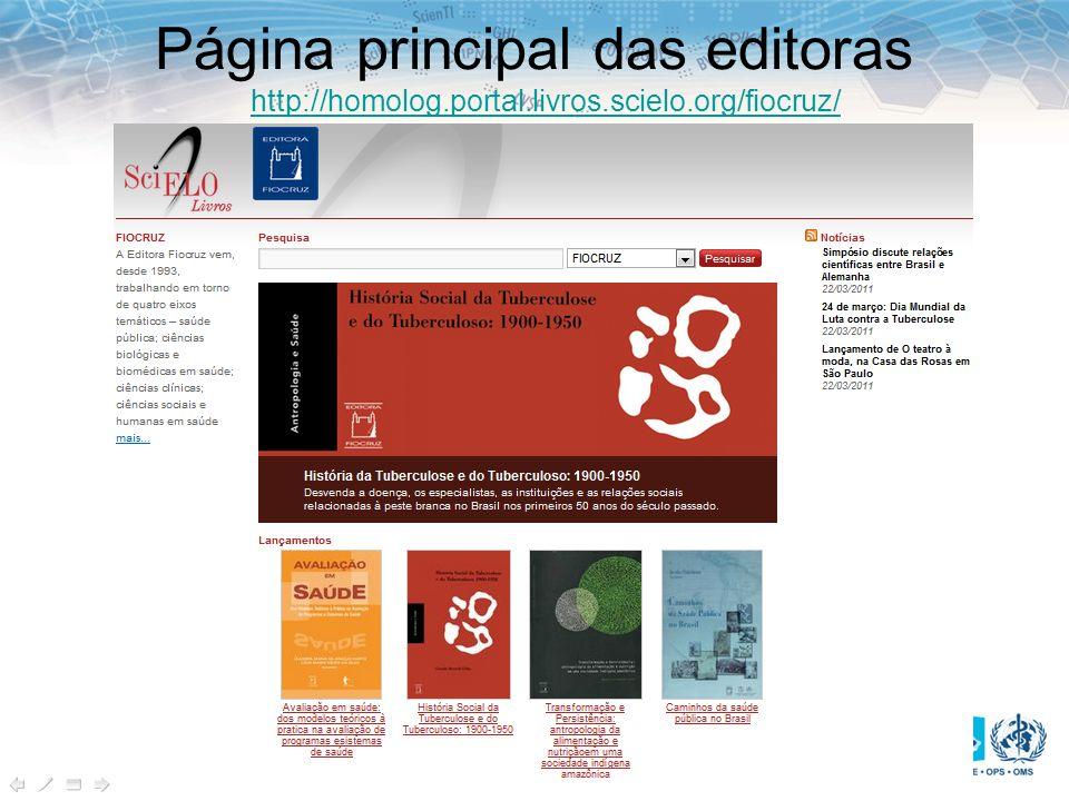 Página principal das editoras http://homolog.portal.livros.scielo.org/fiocruz/