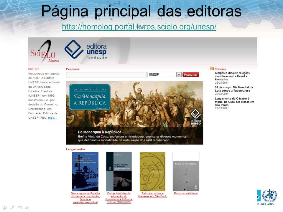 Página principal das editoras http://homolog.portal.livros.scielo.org/unesp/