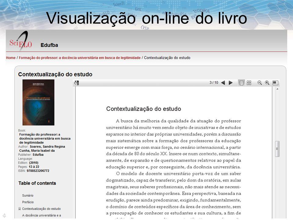 Visualização on-line do livro