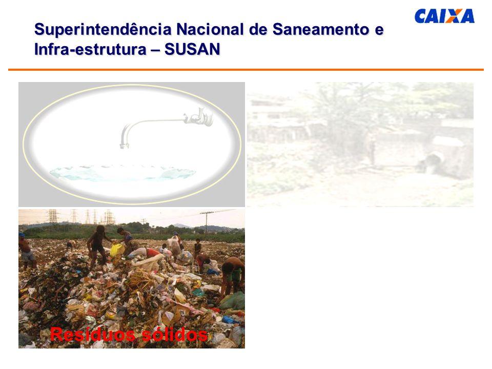 Contingenciamento de Crédito Excepcionalidades: Empréstimos para drenagem e saneamento integrado (PROSANEAR) no âmbito do P.A.F.