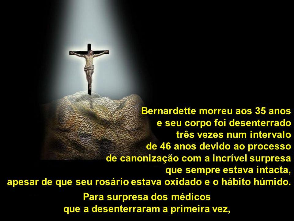 História de Bernardette, a jovem para quem apareceu a Virgem de Lourdes.