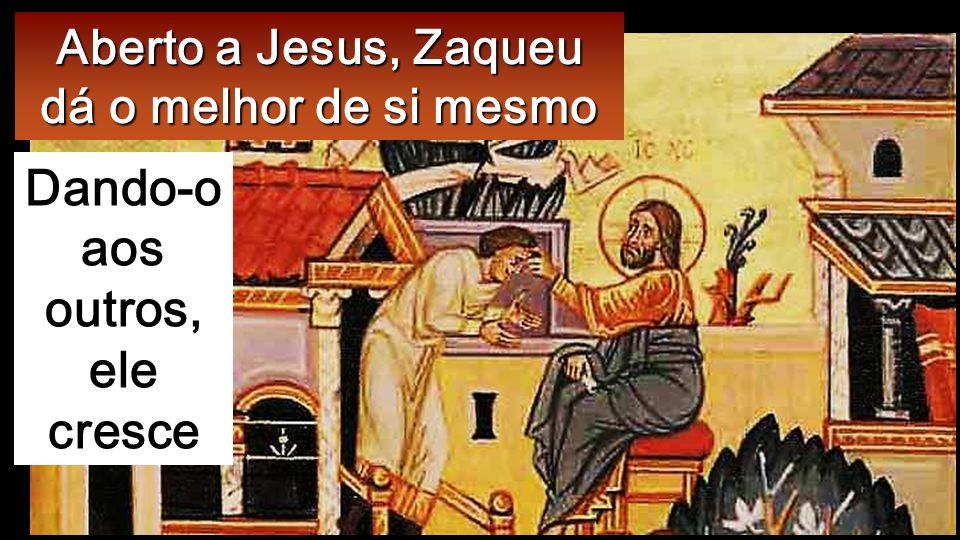 Entretanto, Zaqueu apresentou- se ao Senhor, dizendo: «Senhor, vou dar aos pobres metade dos meus bens e, se causei qualquer prejuízo a alguém, restit