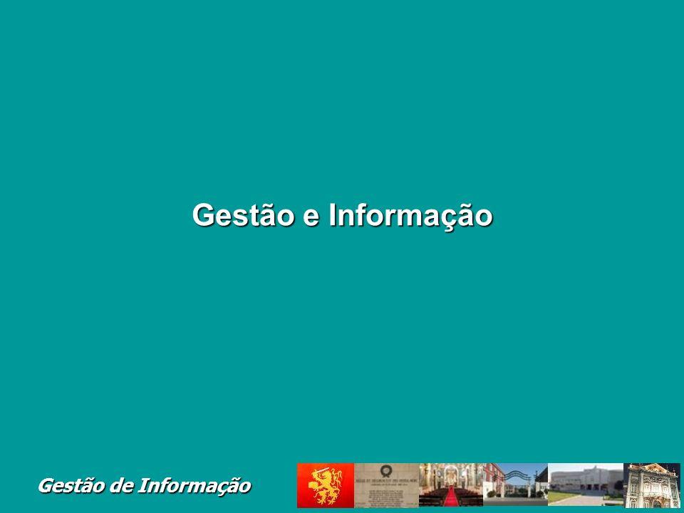 Gestão de Informação Terminologia Gestão de Sistemas de Informa ç ão (GSI) A (...) representa a Gestão do Recurso Informação e de todos os recursos envolvidos no planeamento, desenvolvimento, exploração e manutenção do SI.