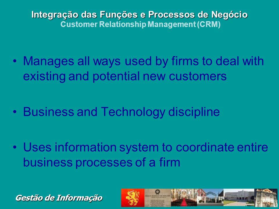 Gestão de Informação Figure 2-12 The Order Fulfillment Process Integração das Funções e Processos de Negócio Integração das Funções e Processos de Neg