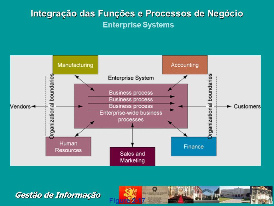 Gestão de Informação Integração das Funções e Processos de Negócio Integração das Funções e Processos de Negócio Traditional View of the Systems