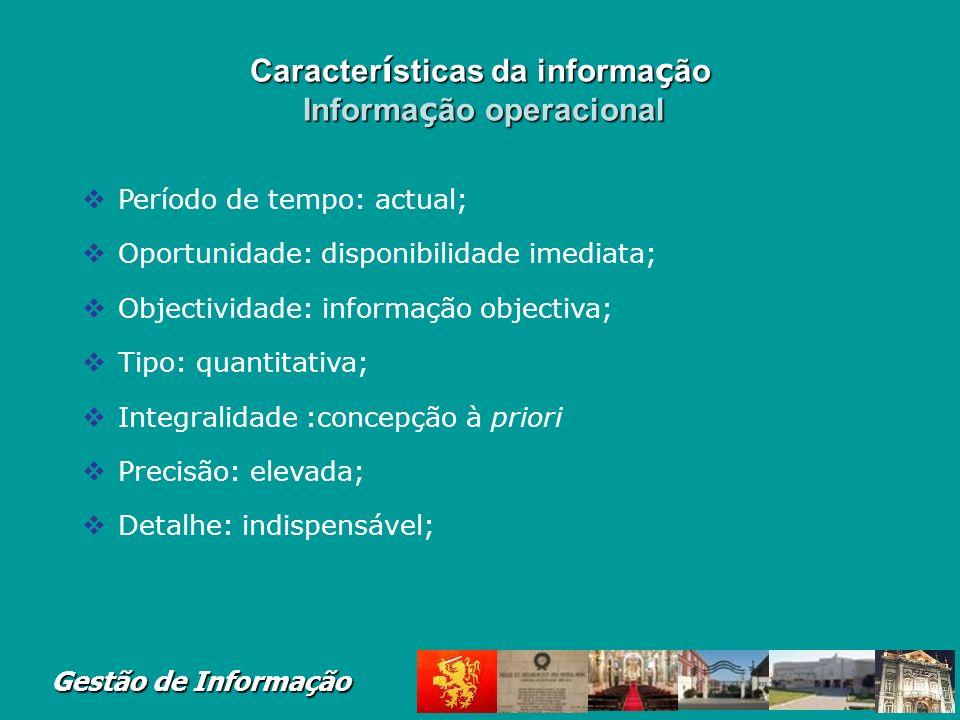 Gestão de Informação Financing and Accounting Systems Sistemas de Informação numa Perspectiva Funcional
