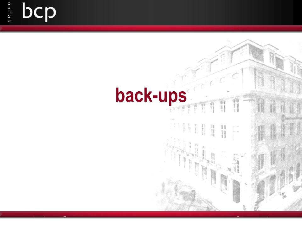 G R U P O back-ups