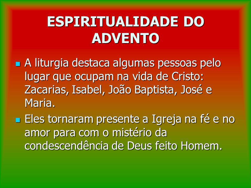 ESPIRITUALIDADE DO ADVENTO O tempo de Cristo é o tempo da longa espera de Israel, figura da espera da Igreja no retorno de Cristo.