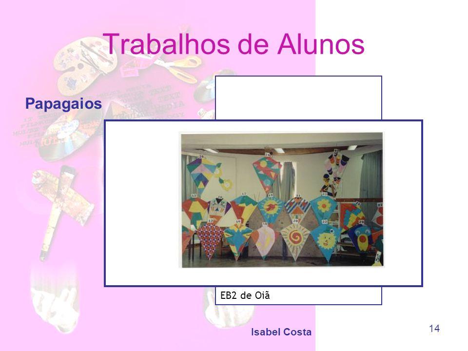 Isabel Costa 14 Trabalhos de Alunos Papagaios EB2 de Oiã