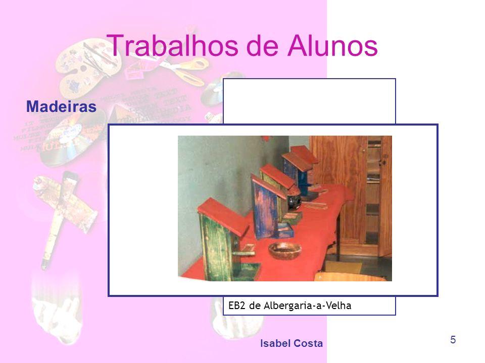 Isabel Costa 6 Trabalhos de Alunos Encadernação EB2,3 de Oliveira do Bairro