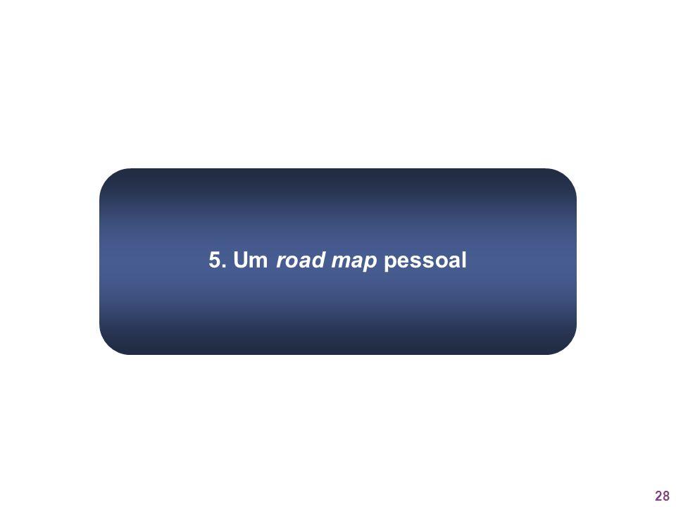 28 5. Um road map pessoal