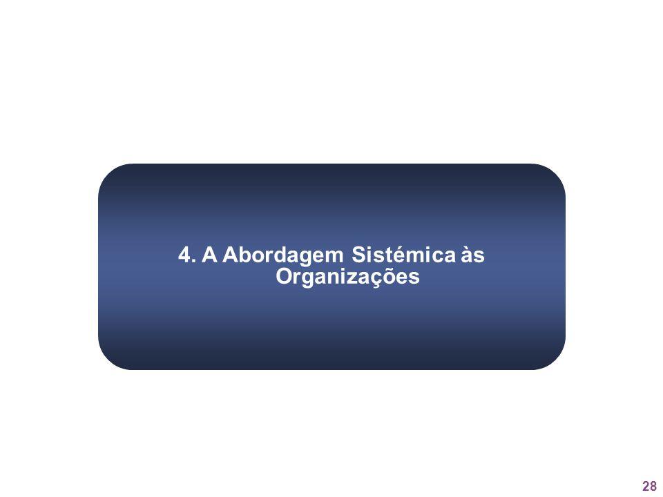 28 4. A Abordagem Sistémica às Organizações