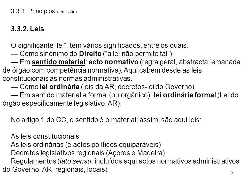 13 6.CONFLITOS DE LEIS NO TEMPO 6.0.