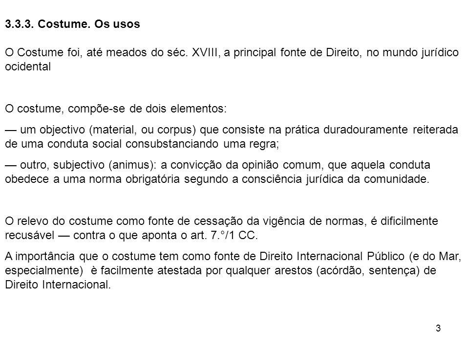 14 7.CONFLITOS DE LEIS NO ESPAÇO 7.1.