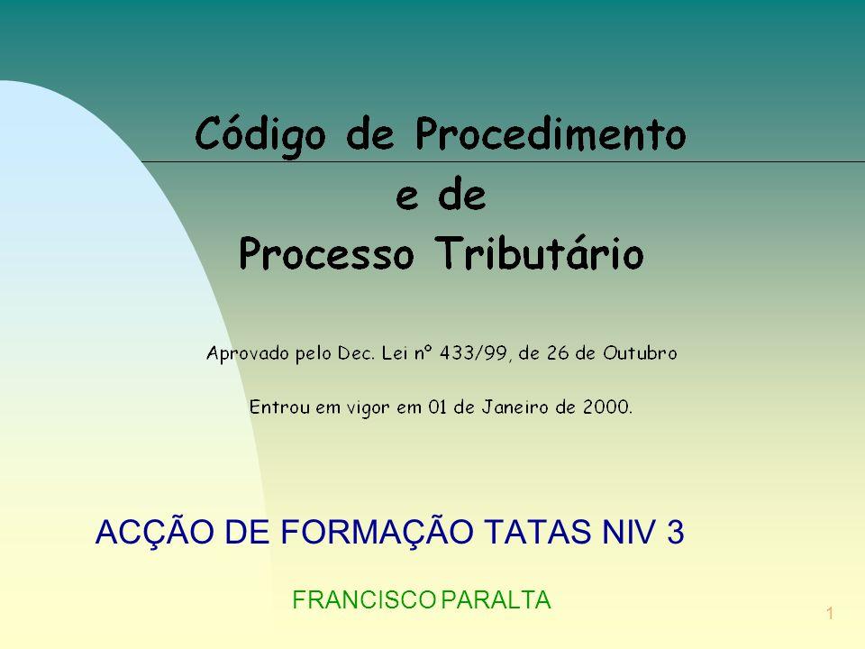 52 IMPUGNAÇÃO JUDICIAL PETIÇÃO (CPPT - Código de Procedimento e de Processo Tributário) 1 Endereçada ao juiz do TAF - Artº.