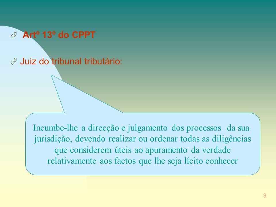 10 Ä Artº 14º do CPPT Ä Ministério Público: Compete-lhe a defesa da legalidade, a promoção do interesse público e a representação dos ausentes, incertos e incapazes.