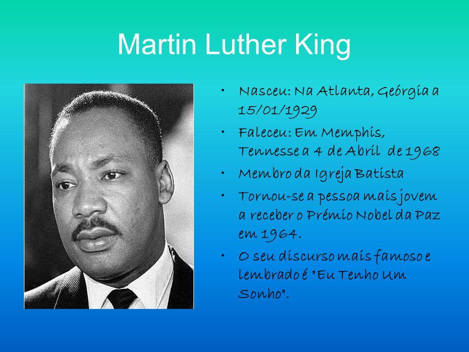 O que fez.Foi um pastor protestante e activista político estadunidense.