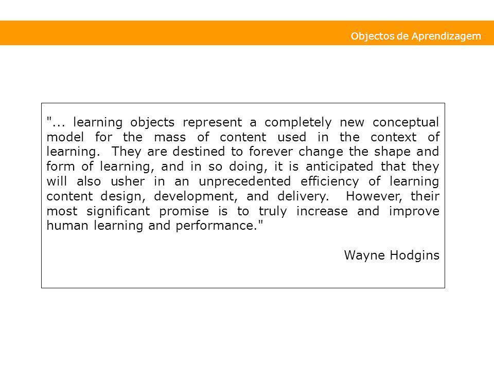 Objectos de Aprendizagem
