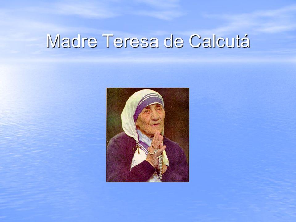 Muitos presidentes de todo o mundo, católicos ou não, mostraram uma grande admiração por esta senhora de aspecto frágil, mas que criou um verdadeiro exército pela Paz.