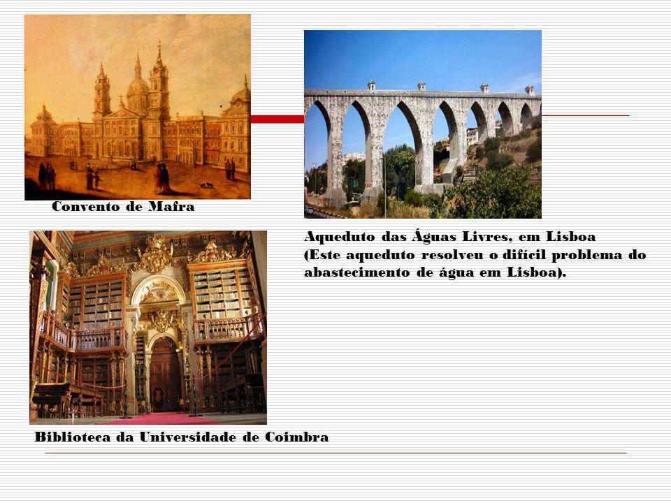 D. João V conhecia línguas e obras modernas. Criou uma Escola do Seminário da Patriacal. Exprimia as obras, correctamente, em francês, em italiano, e